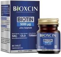 BIODERMA - BIOXCIN BIOTIN 5000 MCG 60 TABLET