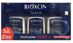 BIODERMA - BIOXCIN QUANTUM 3 AL 2 ÖDE ŞAMPUAN - KURU NORMAL SAÇ