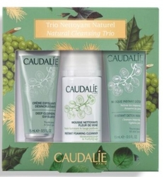 CAUDALIE - CAUDALIE CLEANSING TRIO CİLT TEMİZLEME SETI