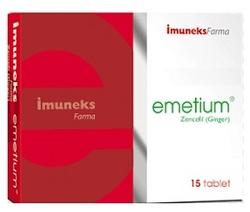 IMUNEX - IMUNEKS EMETİUM ZENCEFİL 15 TABLET