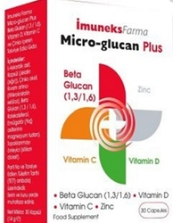 IMUNEX - IMUNEKS MICRO-GLUCAN PLUS 30 KAPSÜL