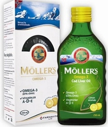 MOLLERS - MOLLERS OMEGA 3 LIMON 250 ML