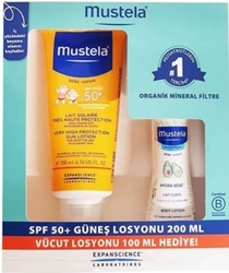 MUSTELA - MUSTELA SPF 50+ 200 ML GÜNEŞ SETİ