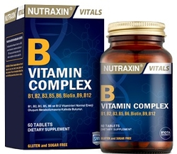 NUTRAXIN - NUTRAXIN B COMPLEX VITAMIN 60 KAPÜL