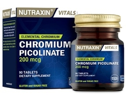 NUTRAXIN - NUTRAXIN CHROMIUM PICOLINATE 200 MG 90 TABLET