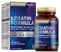 NUTRAXIN - NUTRAXIN KERATİN FORMULA 60 KAPSÜL