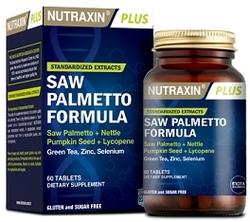 NUTRAXIN - NUTRAXIN SAW PALMETTO FORMULA 60 MG