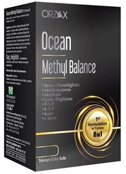 ORZAX - ORZAX OCEAN METHYL BALANCE TAKVİYE EDİCİ GIDA 30 KAPSÜL