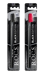 ROCS - ROCS BLACK EDITION DİŞ FIRÇASI MEDIUM