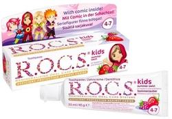 ROCS - ROCS KIDS AHUDUDU ÇİLEK MEYVELİ DİŞ MACUNU 35 ML (4-7 YAŞ)