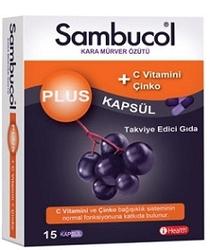SAMBUCOL - SAMBUCOL PLUS 15 KAPSÜL