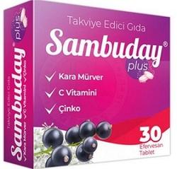 SAMBUCOL - SAMBUDAY PLUS 30 EFERVESAN TABLET