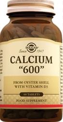 SOLGAR - SOLGAR CALCIUM 600MG 60 TABLET
