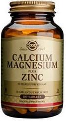 SOLGAR - SOLGAR CALCIUM MAGNESIUM PLUS ZING 100 TABLET