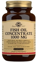 SOLGAR - SOLGAR FISH OIL 1000 MG 60 KAPSÜL