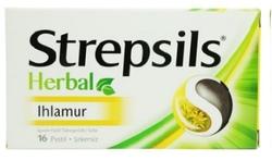 STREPSILS - STREPSİLS HERBAL IHLAMUR BOĞAZ PASTİLİ 16 ADET