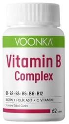 VOONKA - VOONKA VITAMIN B COMPLEX 62 TABLET