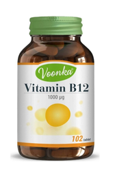 VOONKA - VOONKA VITAMIN B12 ICERİKLİ TAKVIYE EDICI GIDA 102 TABLET